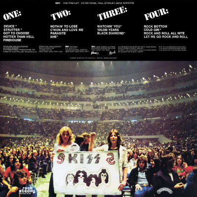 Kiss - Alive! - Back cover (discogs.com)