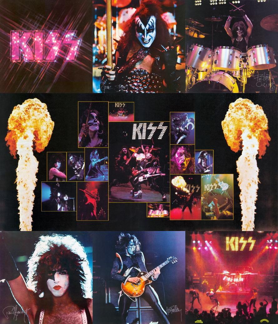 Kiss - Alive! - Booklet 8 pagina's (kissmonster.com)