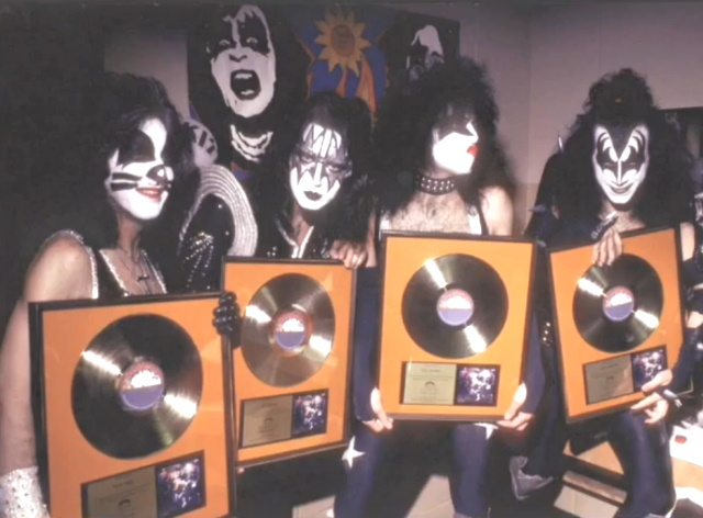 Kiss - Alive! - Gold record 12/31/975 (youtube.com)