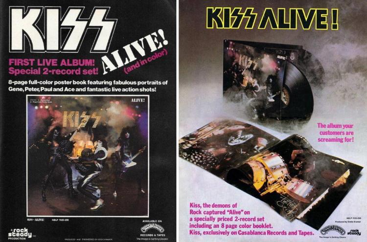 Kiss - Alive! - Ads (everythingkiss.com)