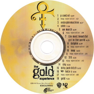 Prince - The Gold Experience - CD (discogs.com)