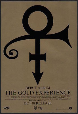 Prince - The Gold Experience - Japan ad (unknown)