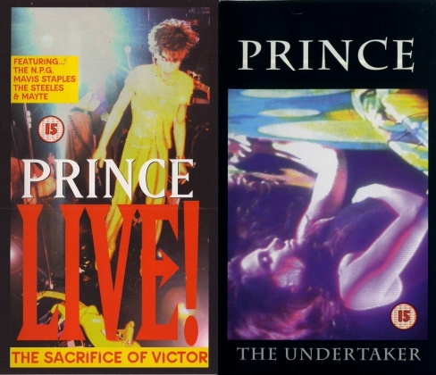 Prince - The Sacrifice Of Victor & The Undertaker - Videos (videocollector.co.uk)