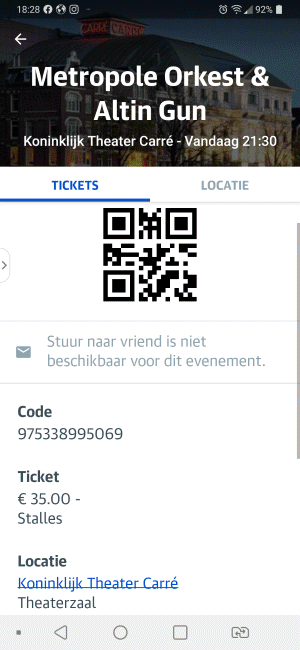 Altin Gun 01-10-2020 Concertkaartje (apoplife.nl)