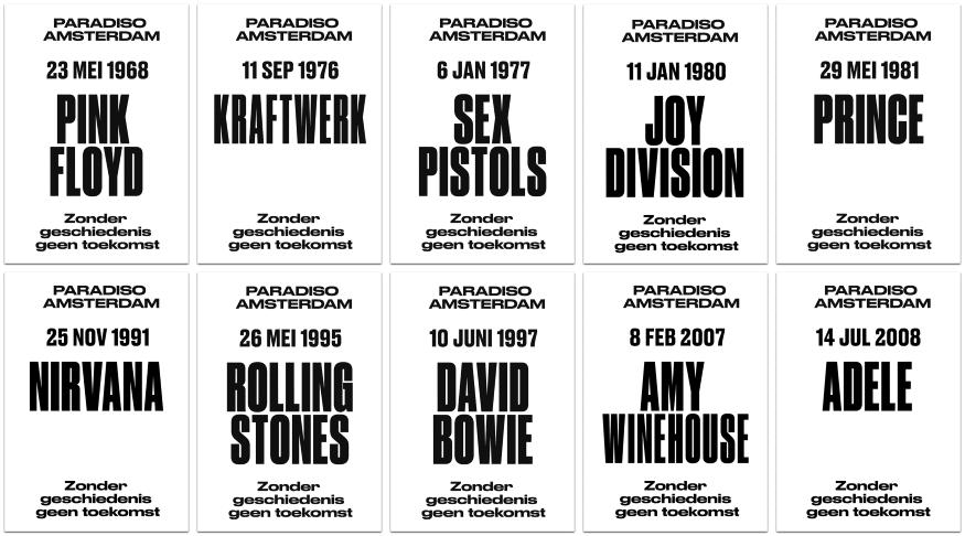 Paradiso posters (webshop.paradiso.nl)