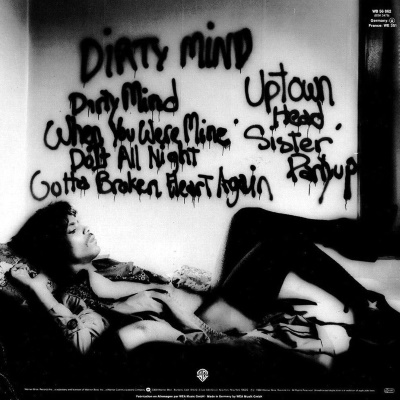 Prince - Dirty Mind - Back cover (pitchfork.com)