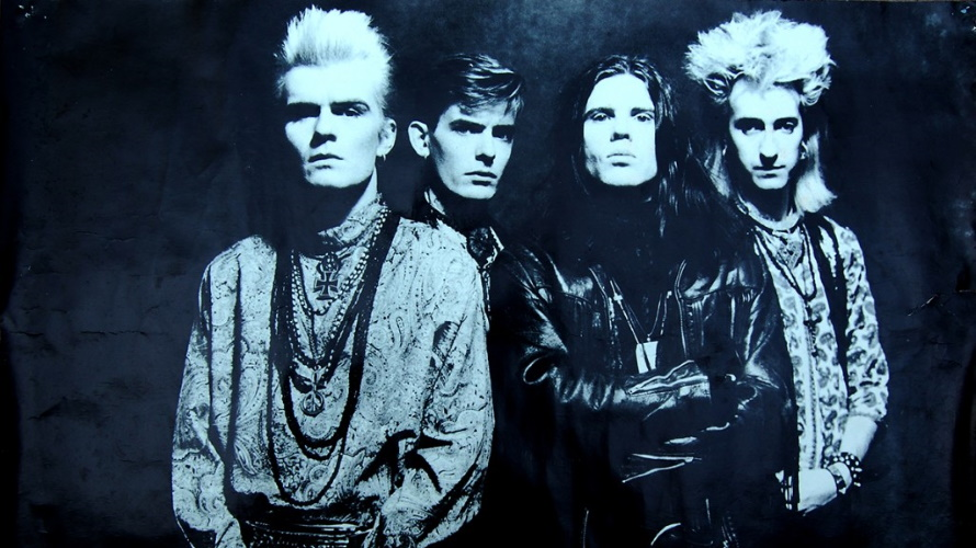The Cult - Love poster (billyduffy.com)