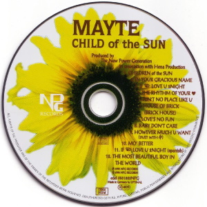 Mayte - Child Of The Sun - CD (discogs.com)