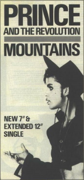 Prince And The Revolution - Mountains - Single reclame (ininet.org)