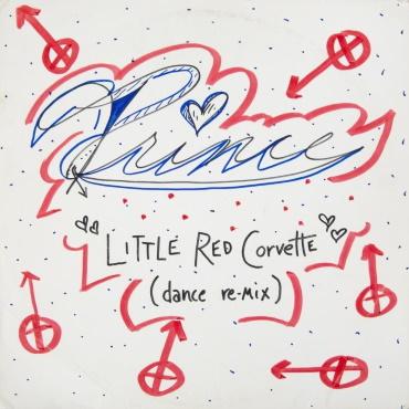Prince - Little Red Corvette (Pre-release 12-inch acetate gegeven aan Vanity door Prince) (pinterest.com)