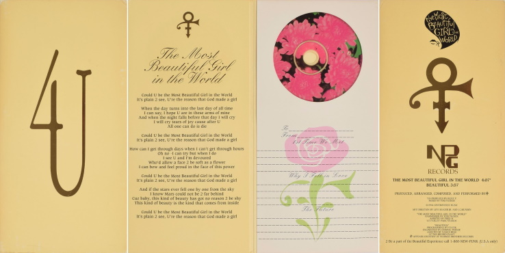 Prince – The Most Beautiful Girl In The World - Single gift cd (icollector.com)