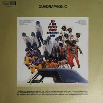 Sly And The Family Stone - Greatest Hits - Quadrophonic (discogs.com)