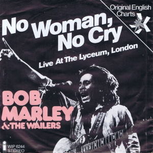 Bob Marley And The Wailers - No Woman, No Cry - Single (45cat.com)