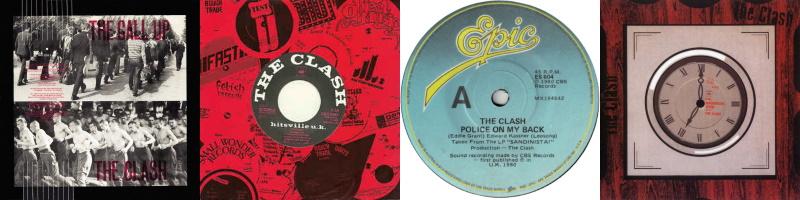 The Clash - Sandinista! - De singles (theclash.com/discogs.com)