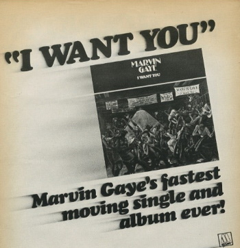 Marvin Gaye - I Want You - Ad (ebay.com)