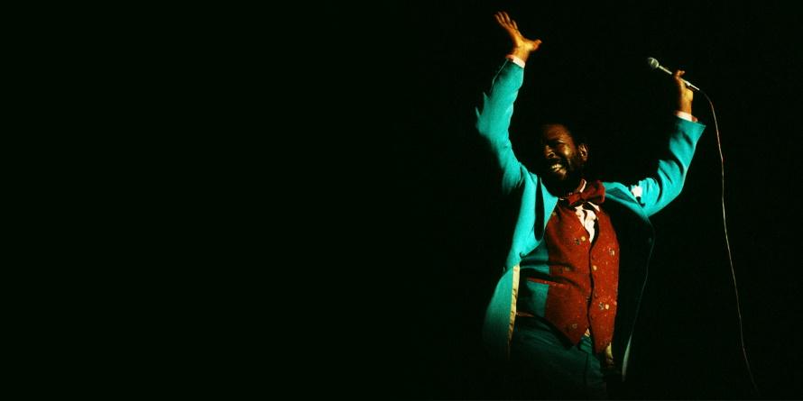 Marvin Gaye live in Londen 1976 (pitchfork.com)