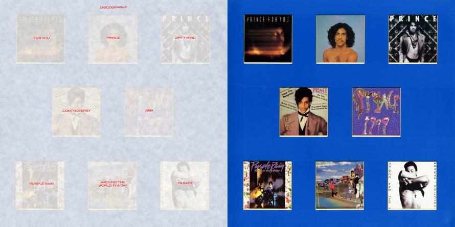 Prince And The Revolution - Parade Tour Book - Pagina's 14 & 15 (facebook.com/prince-tour-books)