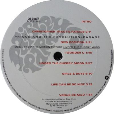 Prince - Parade - Kant A (45worlds.com)