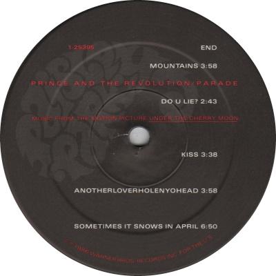 Prince - Parade - Kant B (45worlds.com)