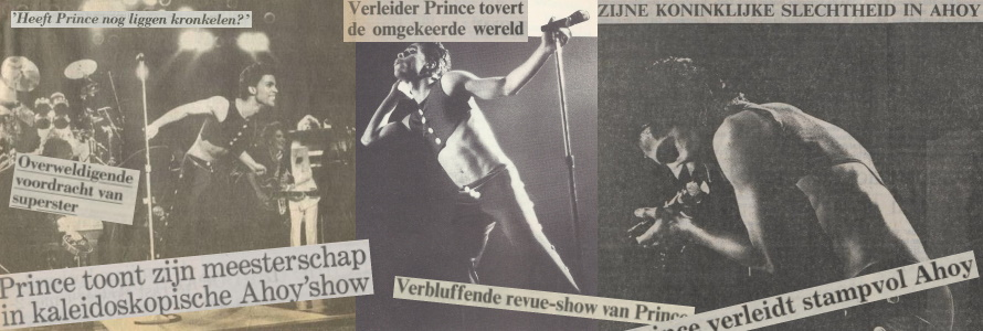 Prince - Parade Tour - De recensies (apoplife.nl)