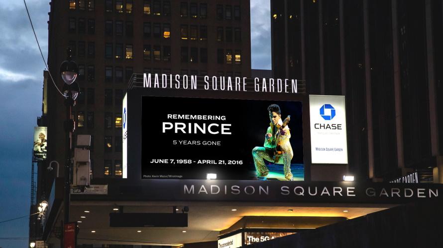 Madison Square Garden 21-04-2021 (twitter.com/thegarden)