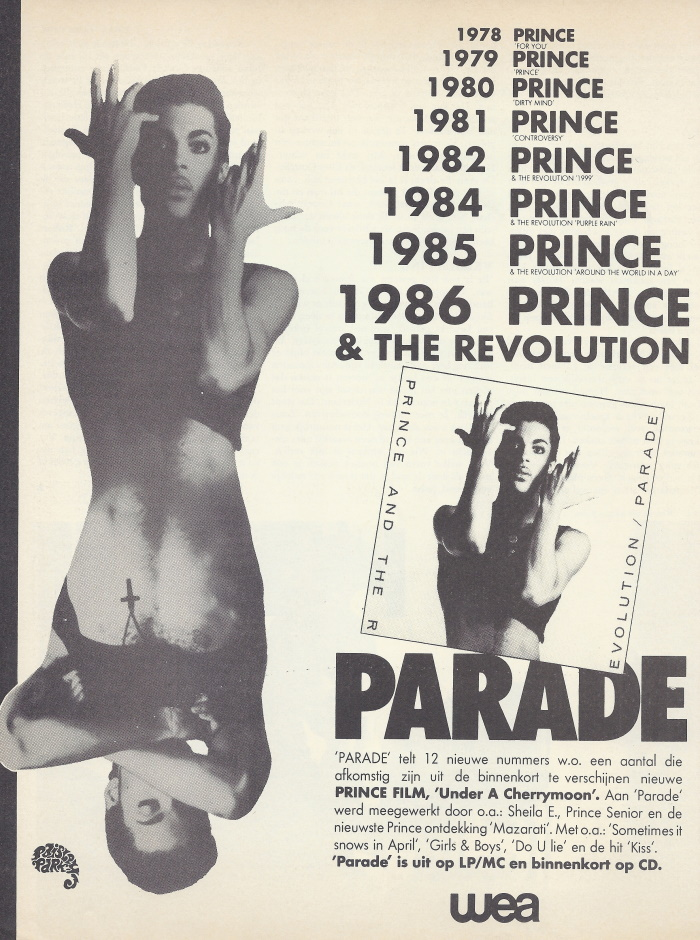 Prince - Parade - Reclame (apoplife.nl)
