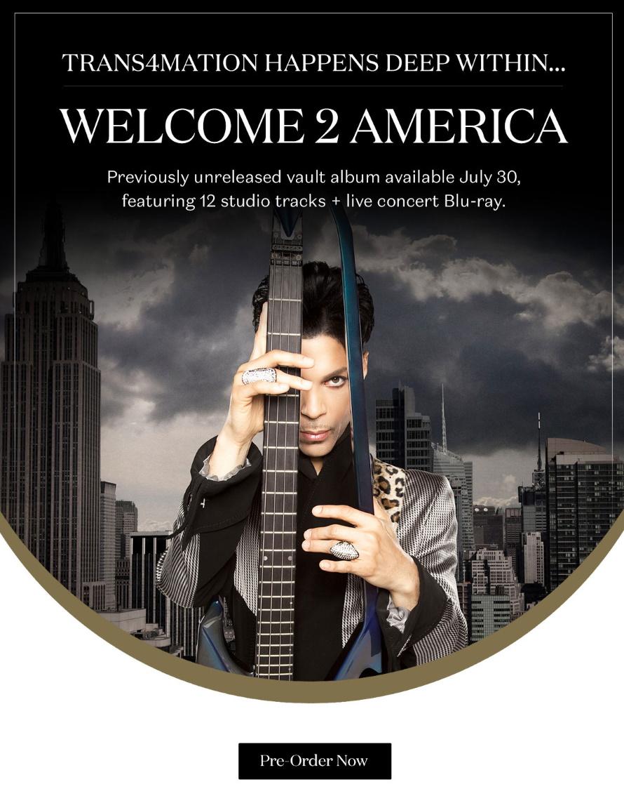 Prince - Welcome 2 America - Unreleased Studio Vault Album - Email (2) (prince.com)