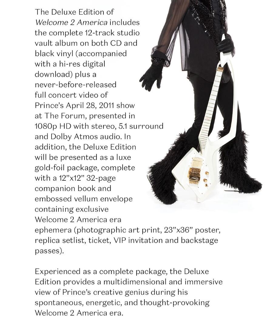 Prince - Welcome 2 America - Unreleased Studio Vault Album - Email (5) (prince.com)