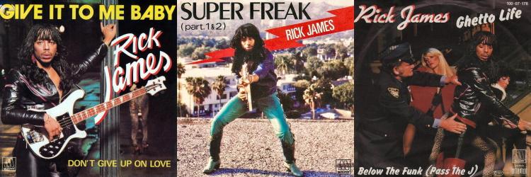Rick James - Street Songs - The singles (discogs.com)