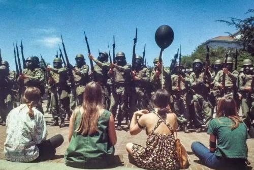 Bloody Thursday 15 mei 1969 - Berkeley, Californië (facebook.com)
