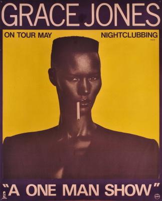 Grace Jones - A One Man Show - Ad (joseflebovicgallery.com)