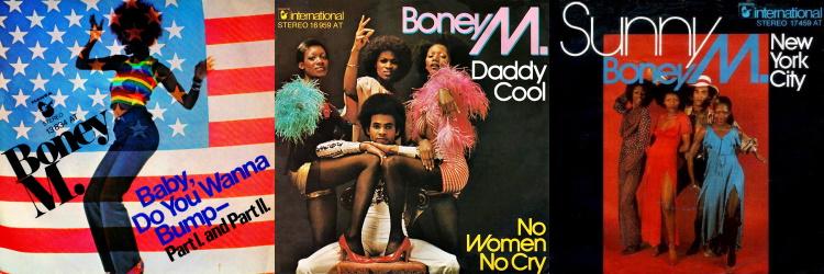 Boney M. - Take The Heat Off Me - De singles (manifo.com)