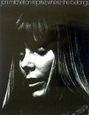Joni Mitchell - Reprise poster 1971 (recordmecca.com)