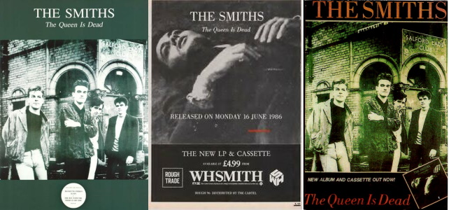 The Smiths - The Queen Is Dead - Reclames (apoplife.nl)