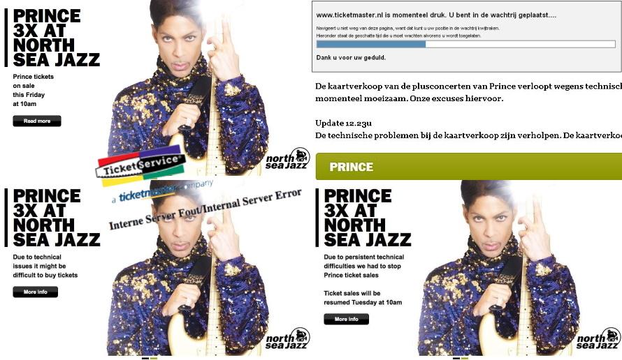 Prince - North Sea Jazz 2011 verkoop problemen (apoplife.nl)