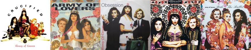 Army Of Lovers - Massive Luxury Overdose - The singles (discogs.com/apoplife.nl)